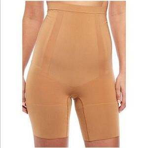 Spanx Oncore High Waist Mid Thigh Shaper Nude